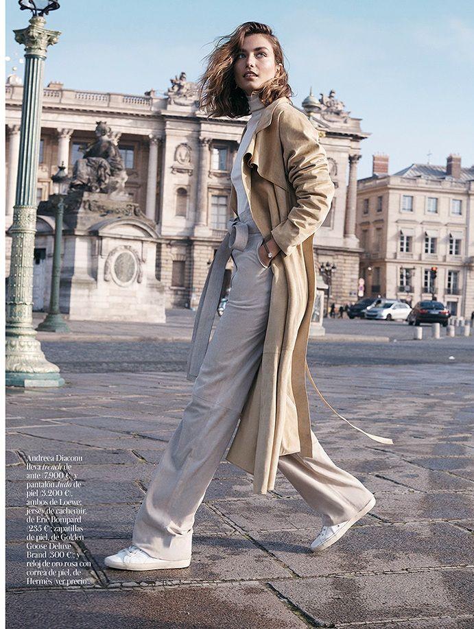awesome Andreea Diaconu por Benny Horne para Vogue Espanha Fevereiro 2015  [Editorial]