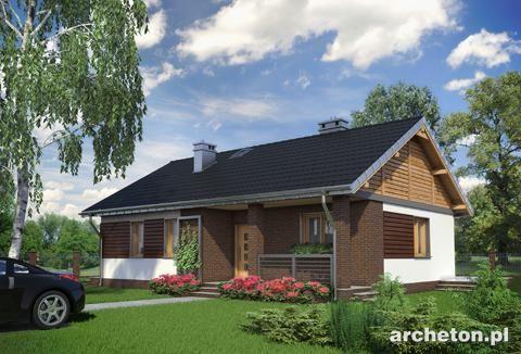 Projekt domu Modrzyk bez garażu