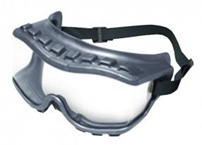 http://ca.en.safety.ronco.ca/products/26/35/131/strategy%C2%AE Strategy® Safety Goggles  The Uvex Strategy®  is the industry's only economical over-the-glass (OTG) goggle that delivers both premium comfort and maximum protection. With a powerful combination of innovative, face-hugging material and a rugged design that withstands the harshest environments, the Uvex Strategy goggle provides protection, peace of mind and total comfort.