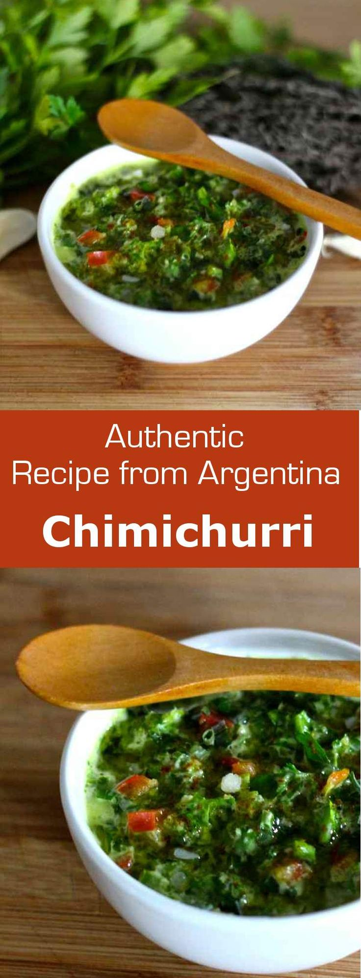 Chimichurri sauce is a classic Argentinian dressing that is typically used on grilled meats.