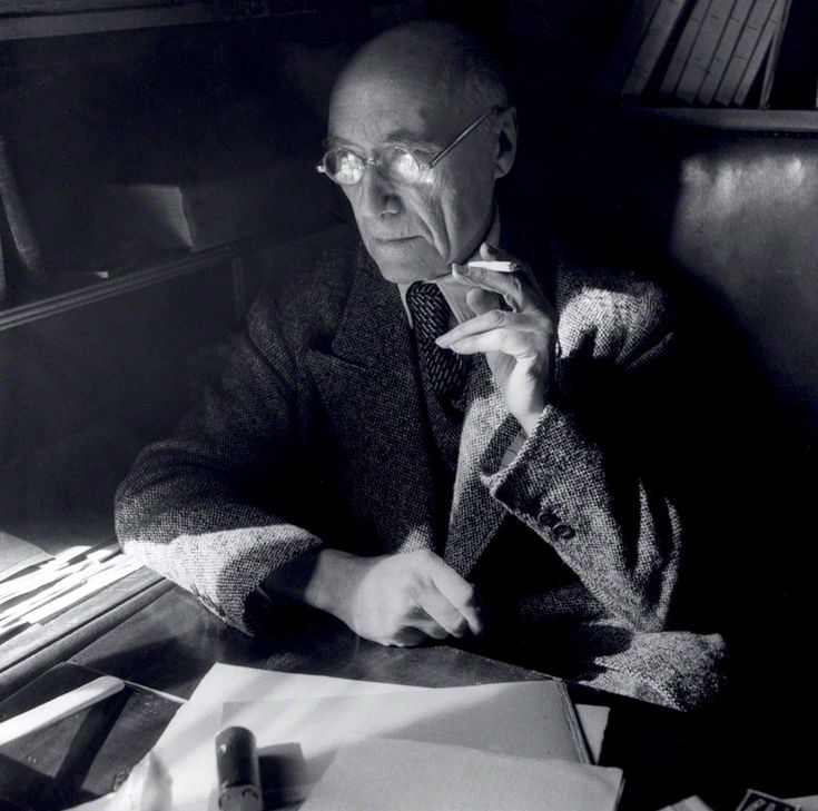 André Gide by Cecil Beaton