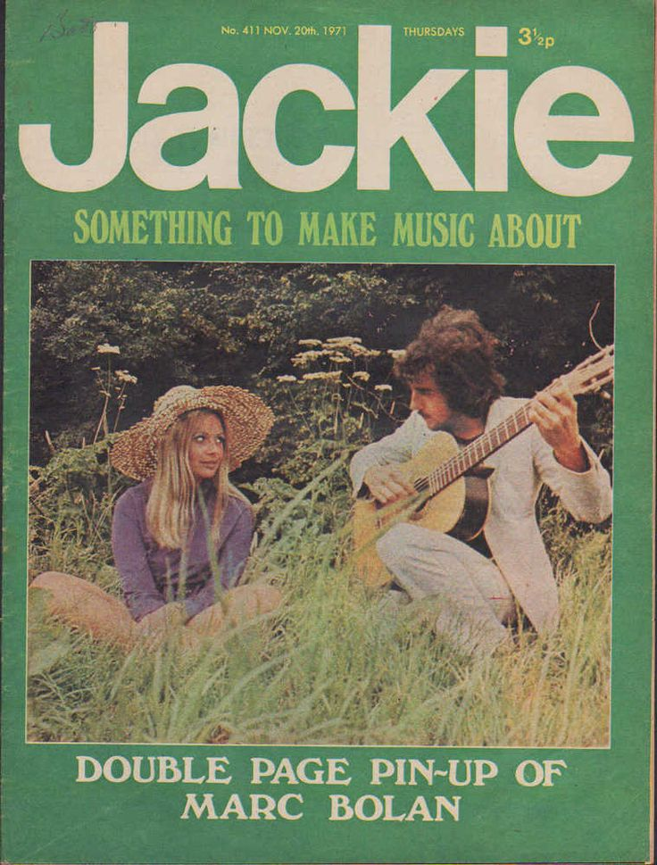 Jackie Magazine 20 November 1971 No.411 Richard Beckinsale Sally Thomsett
