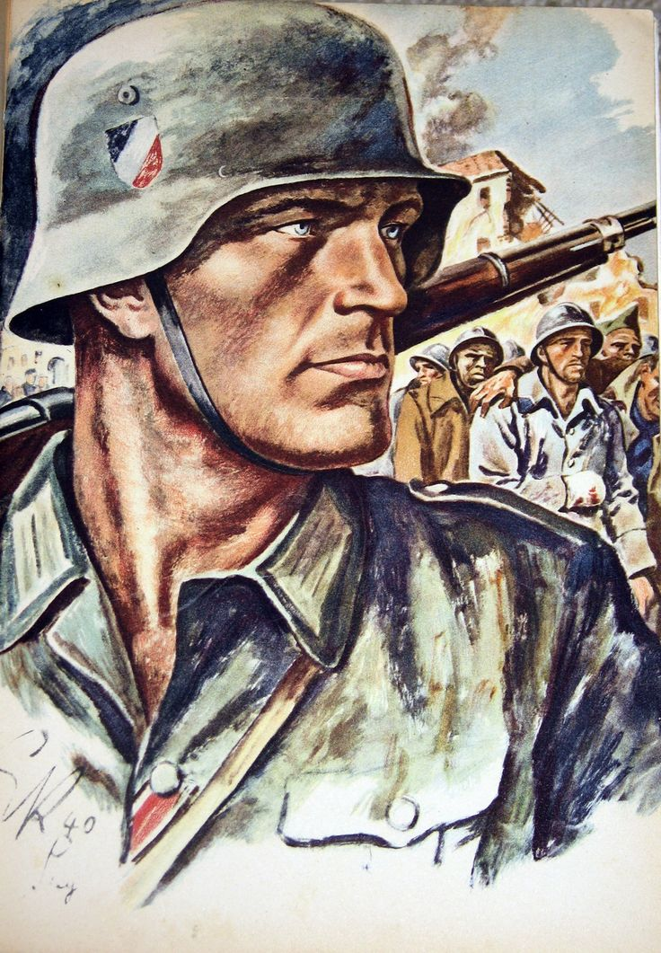 Le soldat allemand