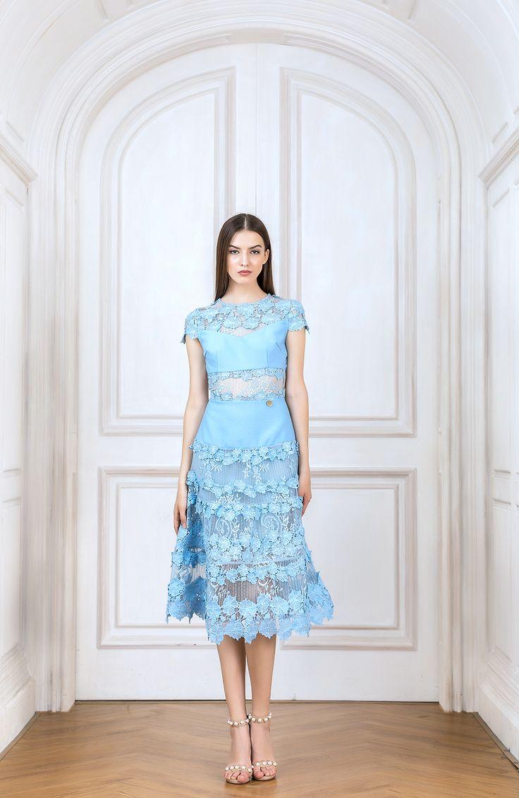 Bronx And Banco - Flamenco Sky Dress