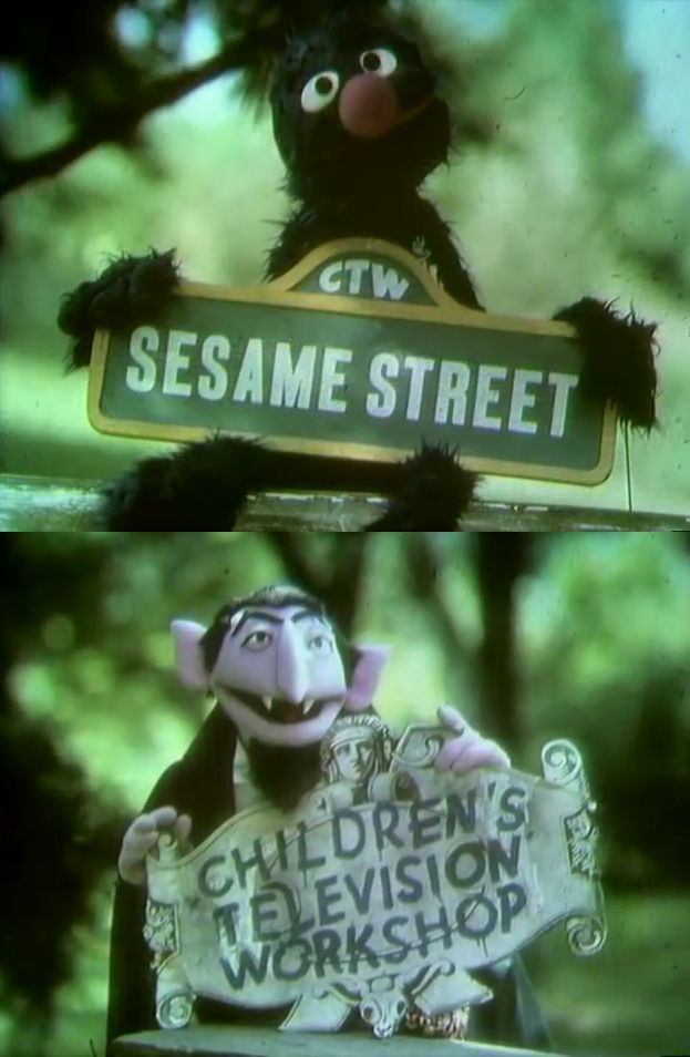 1980 Quot Sesame Street Quot Closing Credits Signs Slightly