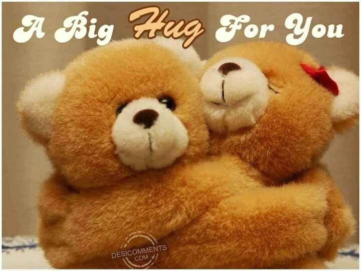 A big hug for you Hugs Pinterest Big hugs and Hugs