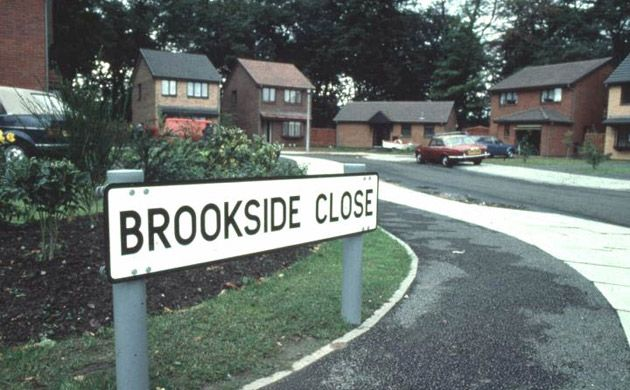 Brookside - I watched some of the earlier series