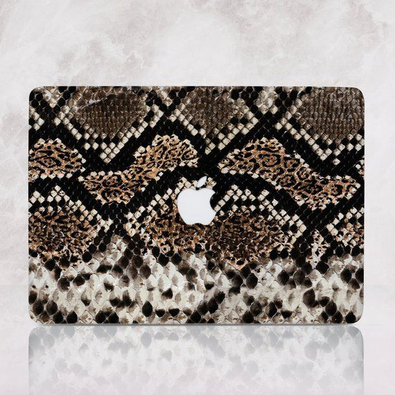 cc2ee6781e3 Snake Print Macbook Pro Case Laptop Cover Boa Skin Macbook Air 11 Case  Snakeskin Macbook Pro New Cas