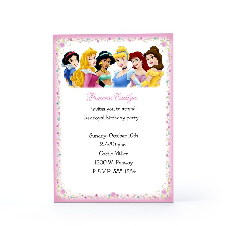 248 best Princesas disney images – Disney Party Invitation Templates Free