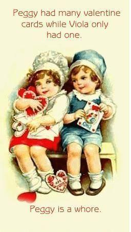 Happy Valentine's Day.....hahahaha