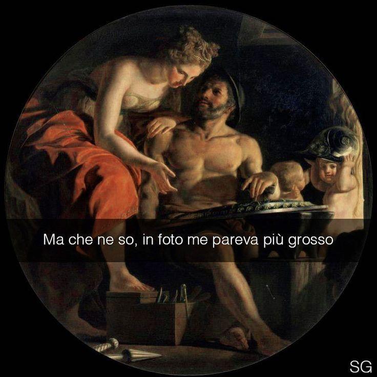 Venere nella fucina di Vulcano - Bernardino Nocchi (1700 ca.) #seiquadripotesseroparlare #StefanoGuerrera _______________ Snapchat: stefanoguerrera