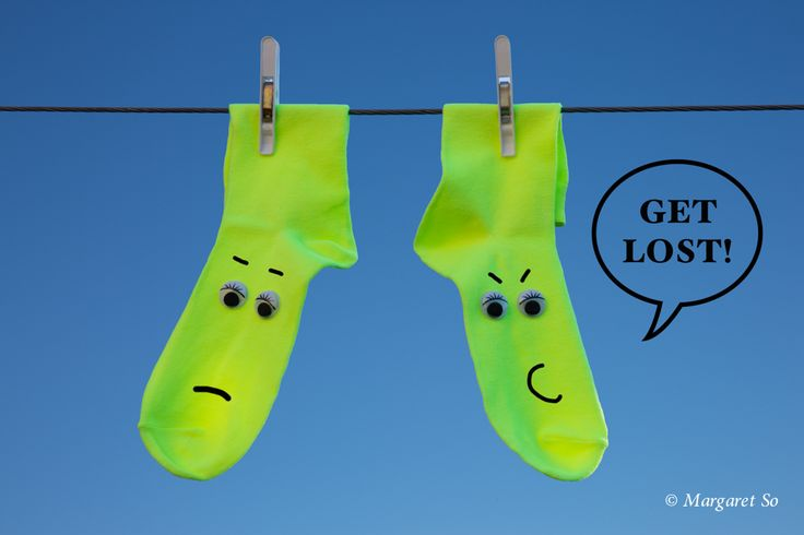 This is why our socks always get lost! :-D