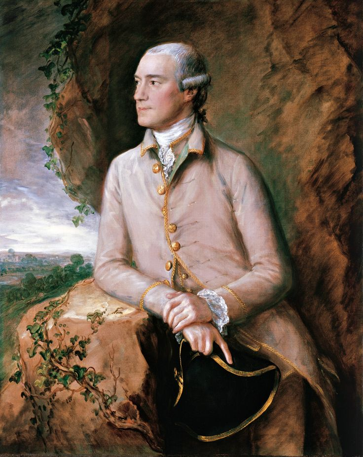 Thomas Gainsborough - Portrait of Joshua Grigby III, 1760/1765