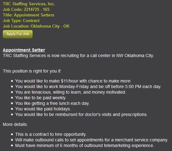 job opportunities in okc