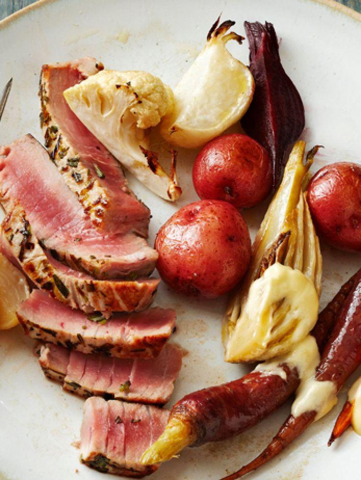 Grilled tuna steak recipes food network forumfinder Choice Image
