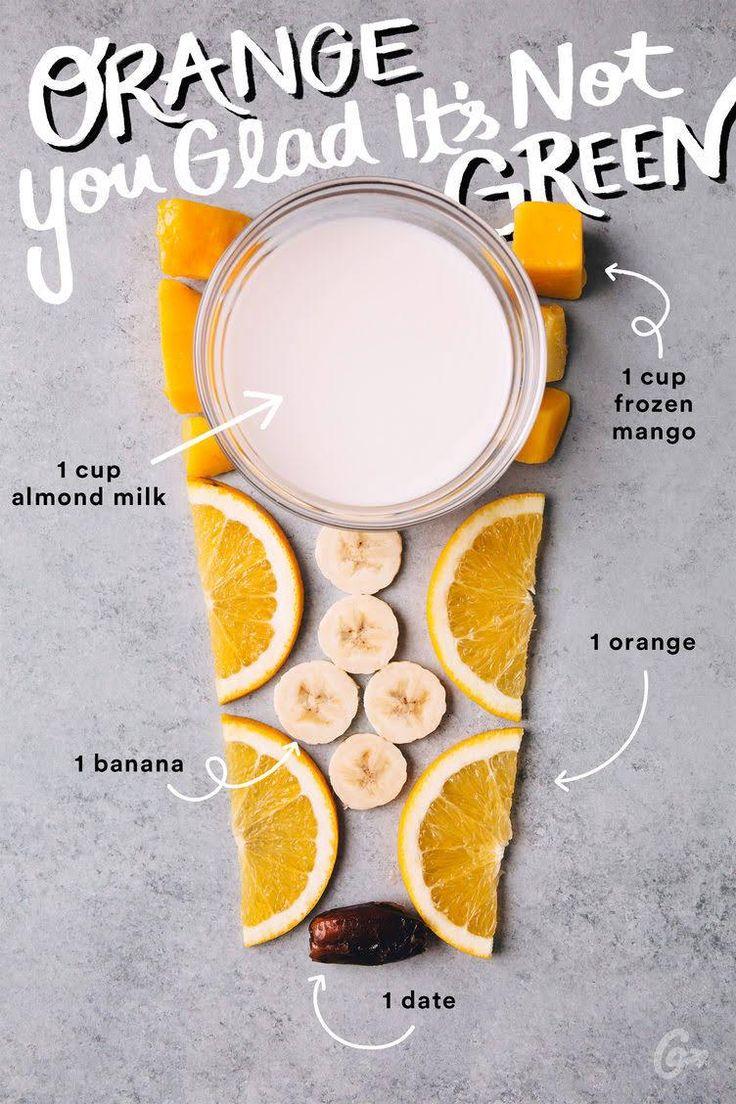 5-Zutaten-Smoothies, die so gut schmecken und aussehen, dass wir weinen möchten