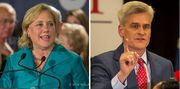 """Democratic Sen. Mary Landrieuis getting personal in a new attack ad against Republican challenger Rep. Bill Cassidy, which is set to air during the Saints game Sunday afternoon. The new ad, titled """"Whoa,"""" shows footage of Cassidy fumbling through a..."""