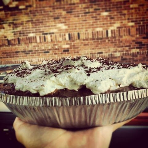 Southern Belle State of Mind: French Silk Pie  Chocolate chocolate chocolate pie