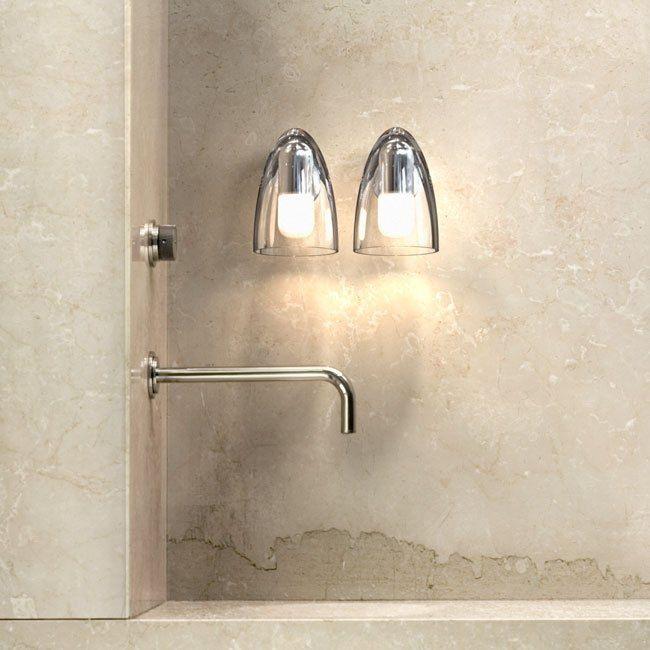 Pretty Minimal Bathroom Lighting For Classy Hotels