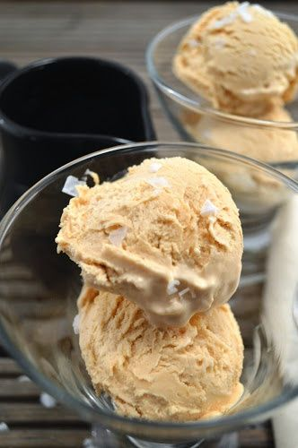 Salted Caramel Ice Cream... 3 ingredients. 2 steps. 1 incredible ice cream!