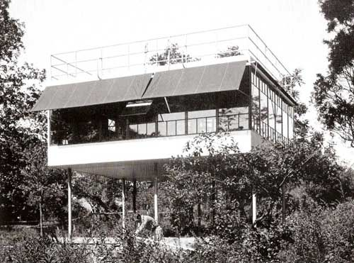 Albert Frey's Canvas Weekend House And Other Pilotis, By Bruno Munari | greg.org: the making of, by greg allen