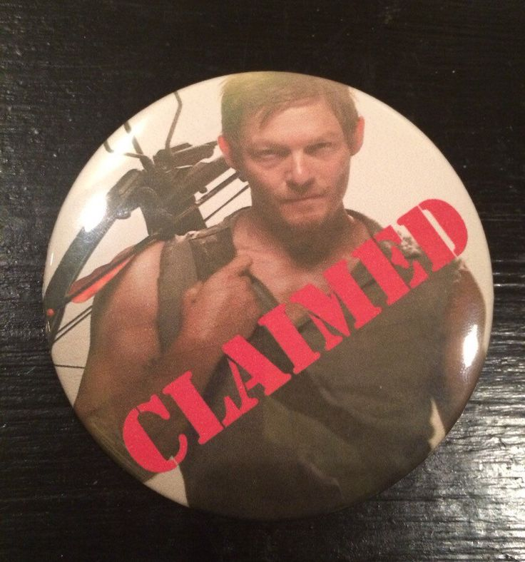 A personal favorite from my Etsy shop https://www.etsy.com/listing/227361082/claimed-3-inch-buttonor-magnet
