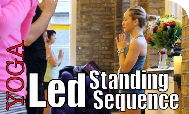Ashtanga Yoga Practice, Sun Salutations & Standing Poses with Kino and Tim at TriYoga in London