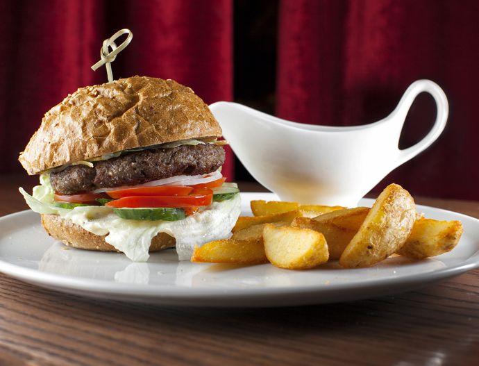 Рецепт домашнего бургера с говядиной
