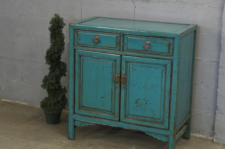 meuble bleu ancien restaur e et repatin e bleu meubles. Black Bedroom Furniture Sets. Home Design Ideas