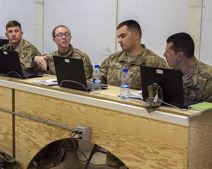 Basic Leader Course Forward held at Bagram Airfield, Afghanistan