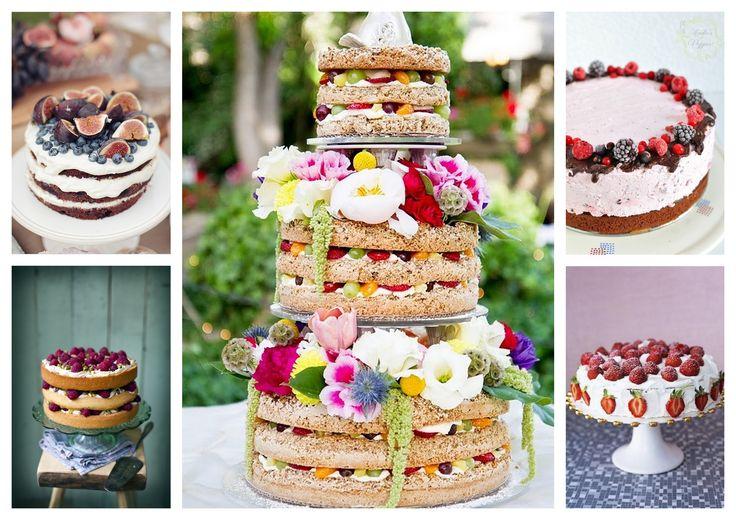 Ideen zu Hochzeitstorte Mit Früchten auf Pinterest  Hochzeitstorte ...