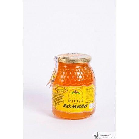 Miel Artesana de Romero Diego. La miel de romero ayuda a reducir los niveles de colesterol y ácido úrico en sangre.   Disponible en formatos de 1/2 kg, 1, 2, 3 y 4 Kg.   Pidela ya pinchando en la imagen.
