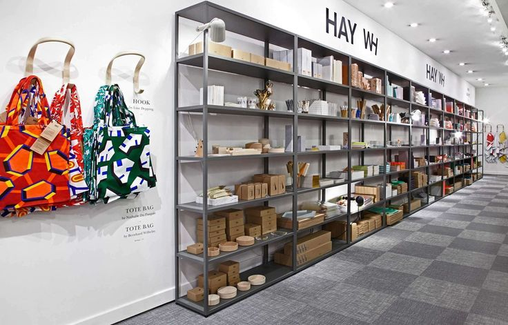 Bolon flooring in HAY's pop-up shop at Selfridges in London, UK