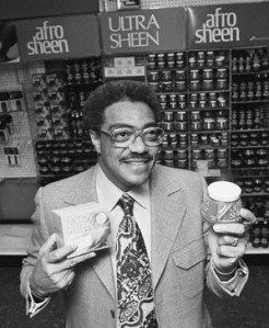 George E. Johnson Sr (born June 12, 1927) worked as a research chemist for Samuel B. Fuller, who owned a cosmetics firm, until 1954 when he borrowed $500 to start his own business, Johnson Products. He marketed Ultra Wave, Ultra Sheen, and his most famous, Afro Sheen. Johnson Products was the only sponsor of Soul Train and in 1971 the first black-owned business listed on the American Stock Exchange. #TodayInBlackHistory