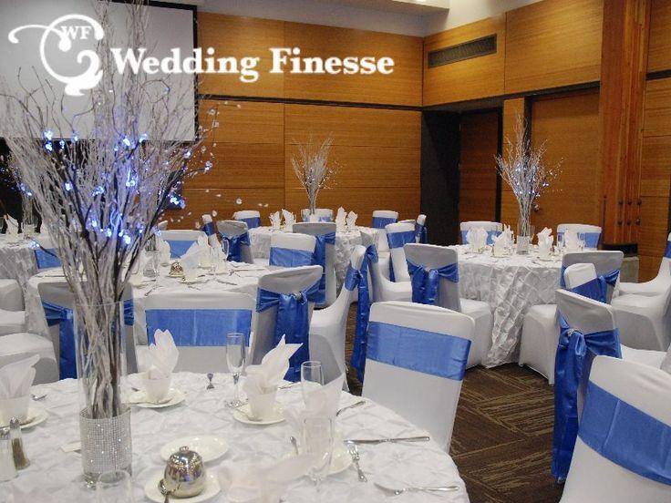 Winter Wedding. White and Blue Wedding