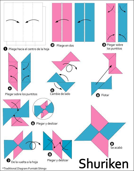 origami naruto facile