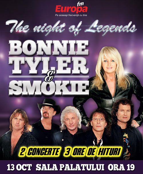 Bonnie Tyler & Smokie 2014