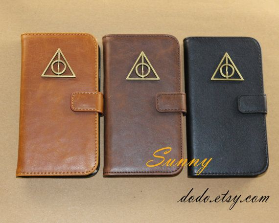 Leather Deathly Hallows Phone Case, $15.98   56 Totally Wearable Harry Potter-Themed Accessories