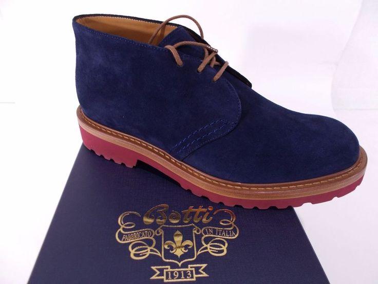 BOTTI SCARPONCINO scarpa uomo CLARKS vitello BLUETTE A/I 6½-7-7½-10(UK) NIB