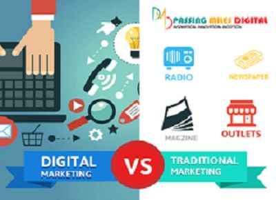 Difference between Digital and Traditional marketing
