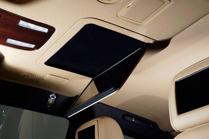 Bentley Mulsanne Mac mini display