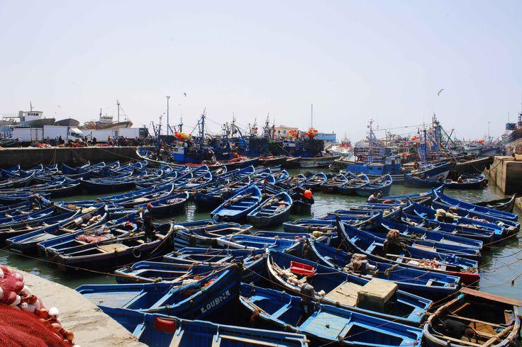 Puerto de Essaouira, Marruecos. Visita mi página web para ver más fotografías: https://unachicatrotamundos.wordpress.com/2016/08/02/essaouira-ciudad-fortificada-banada-por-el-atlantico/