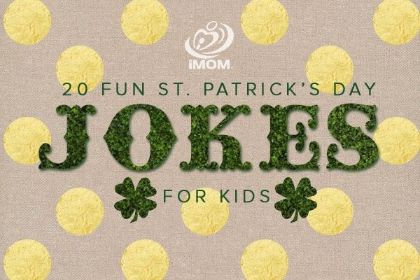 Want to feel a little Irish this St. Patrick's Day? Here are 20 St. Patrick's Day jokes for kids and 5 fun St. Patrick's Day ideas to help you get in the spirit.