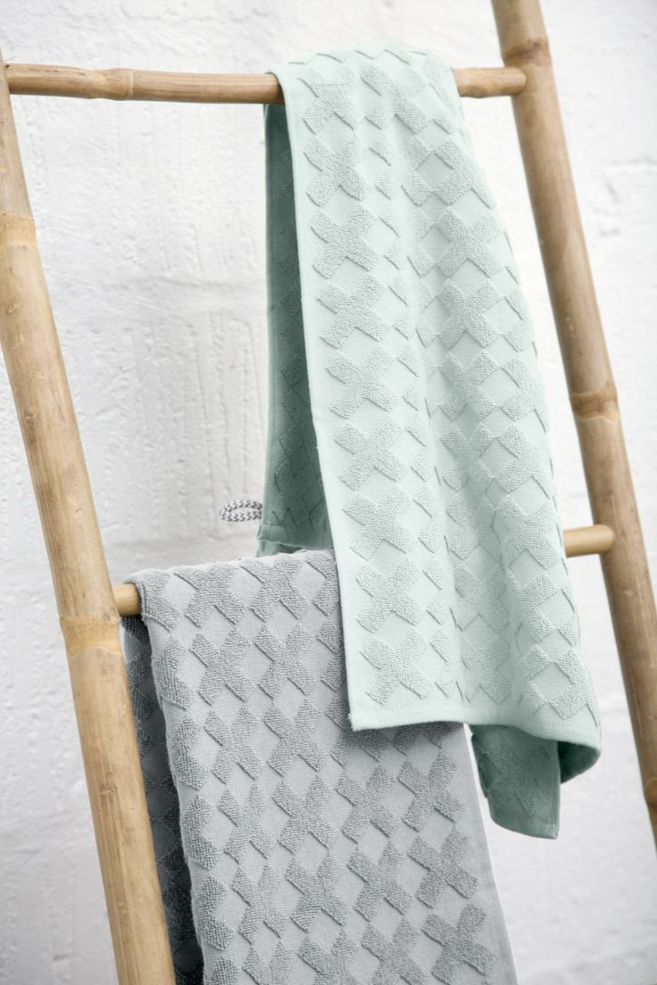Cross towels from Mette Ditmer