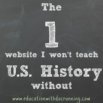This is my favorite US history website for finding primary resources, ideas, and for students.