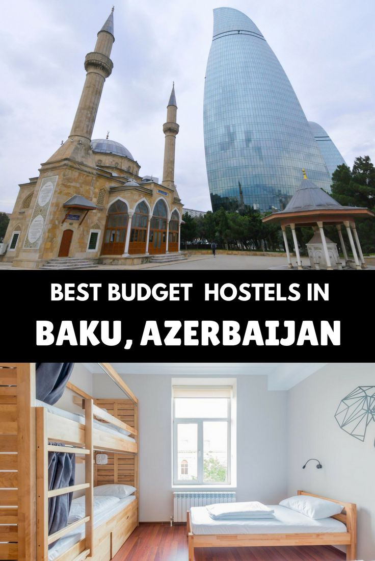 This is a comprehensive list of the 10 best hostels in Baku, the capital of Azerbaijan, one of the most surprising cities in the world. From prices to the good and the bad, this is the ultimate hostel's list for Baku #azerbaijan #azerbaijanbaku #azerbaijantravel #azerbaijantravelbaku #azerbaijantravelcities #bakuazerbaijan #bakuhotels #bakutravel #bakutravelguide #bakutrip #travelazerbaijan #azerbaijanhotels #caucasustravel