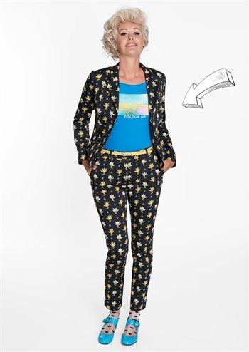 1cbe0c3d Margot blazer jakke Gunilla no 5007 | Blomster hits | Fashion, Style ...