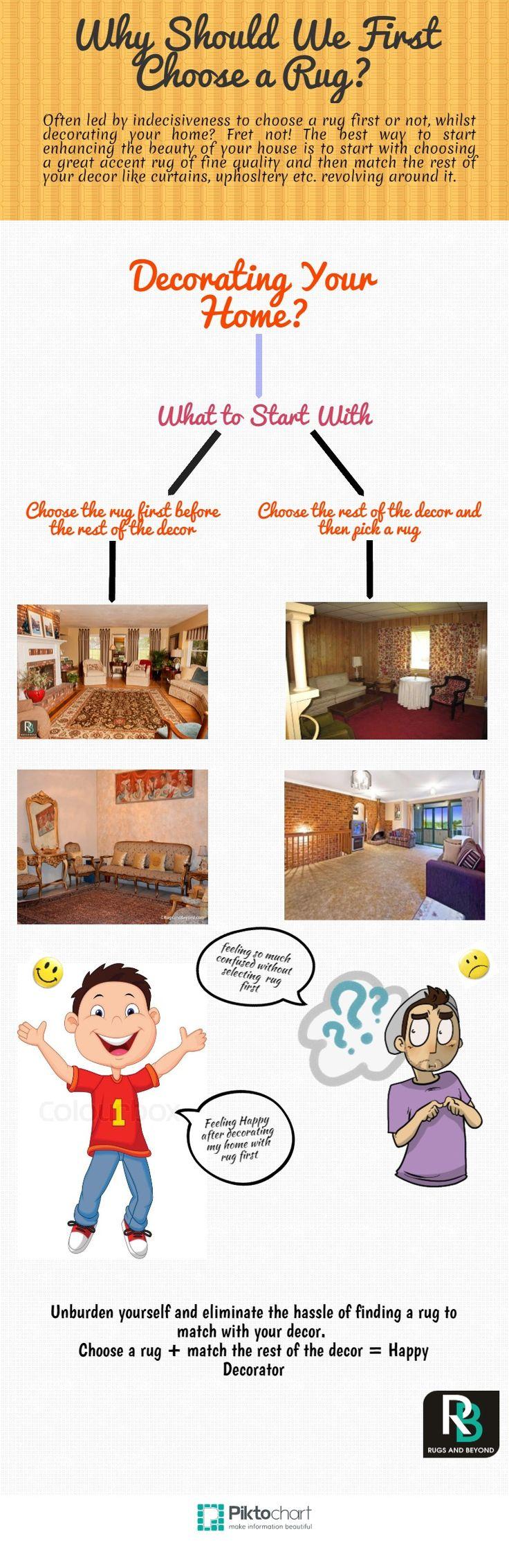 "Top Tips  ""Why should We First Choose a Rug First""  here #Homeshopping #interiordesign #handmaderugs #rugsandbeyond #homedecor #love #true #freeshipping #homedesign"