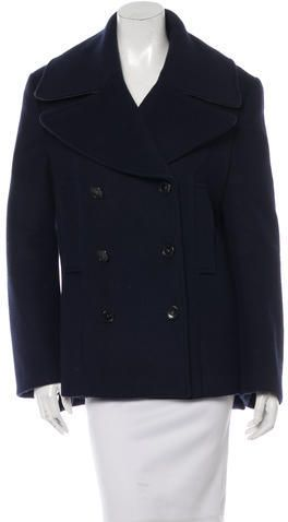 Acne Wool Double-Breasted Coat