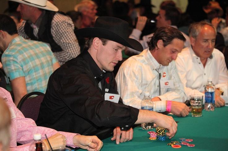 Tim Jackman at the 2013 Texas Hold 'Em Tournament!